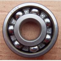 6302 2Z Steel Cage Deep Groove Ball Bearings Single Row ABEC-7 / ABEC-5 Manufactures