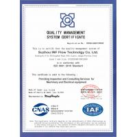 INF Inspection Technology Co.,Ltd Certifications