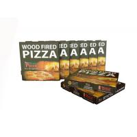 Customized Flexo Pizza Box Corrugated Box For Delivery Manufactures