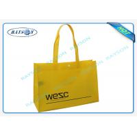 Mult - Color PP Non Woven Shopping Bag Environmental Friendly Manufactures
