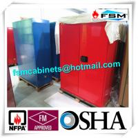 Chemical Combustible Storage Cabinets , Industrial Safety Cabinets For Dangerous Goods