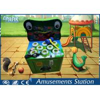Innovative Design Frog Jump Hammer Arcade Machine For Kids 80*66*148 CM Manufactures