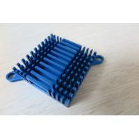 Blue Air Cooling Aluminium Heat Sink Profiles / Casting And Forging Heat Sink Manufactures
