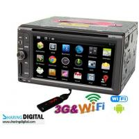 Powerful Dual-core Android Double Din DVD Digital With 6.2 Inch Digital Screen For All Cars Manufactures