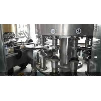 Quality 380V 50Hz Electric Food Filling Machine PLC Control For Juice / Water for sale