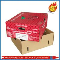 Top and bottom Style Shape 5KG cherry paper color box with custom logo print Manufactures