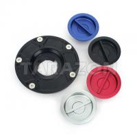 Quality Keyless Motorcycle Fuel Tank Cover Gas Cap With Aluminum Alloy Material for sale