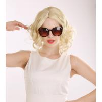 Factory Outlets Hot Sale Sexy Short Curly Blonde High Quality Synthetic Hair Wig Manufactures