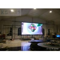 SMD2121 P3.91 Indoor Led Displays , 500x500mm Led Rental Display Full Color Manufactures