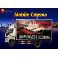 Simple Dynamic Bubble Lighting Wind Mobile 5D Cinema Truck 2.25KW 220V Manufactures