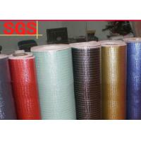 China Waterproof Metallic Coating Laminated Non Woven Fabric Roll Multi Color Available on sale
