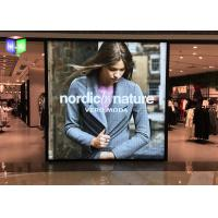 Ultra Slim Advertising Fames Poster Light Box Displays / Sign For Shopping Mall Manufactures