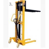 CE Approved Manual Hydraulic Oil Drum Fork Lift 1-29 Sets 1500*830*2200mm Manufactures