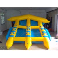 0.9mm PVC Tarpaulin Inflatable Water Games , Inflatable Field Goal Manufactures