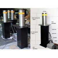 Vehicle Access Safety Hydraulic Bollards Rising Automatic Bollards For Driveways Manufactures