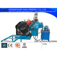 Buy cheap 800 mm - 6000 mm Width Cable Tray Roll Forming Machines with High Forming Speed from wholesalers