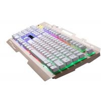 Colorful LED Illuminated Wireless Keyboard Ergonomic Green Quiet Gaming Keyboard Manufactures