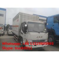 China CLW factory sale 4*2 JAC 5ton gas cylinders delivery truck, CLW brand JAC LHD 4*2 gas cylinders carrier vehicle Manufactures
