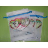 Frosted CPE Drawstring Bags For Hot Spring / Thermal Spring / Well / SPA / Onsen Manufactures