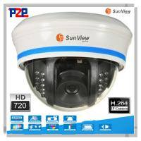 1.0 Megapixel Plug and Play Dome IP Camera wireless wifi H.264 support TF card,Motion Dete Manufactures