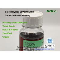 China High Concentrated Liquid Glucoamylase Supermei Fd For Alcohol And Brewing Food Use on sale