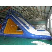 Adults Large Inflatable Cool Blow Up Water Slide Games For Amusement Park Manufactures