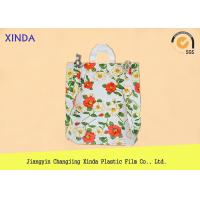 High-Density 30*40cm die cut handle strong medium orange bags for snack gift pack Manufactures