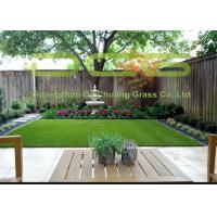 Garden Synthetic Grass Turf , Artificial Grass Landscaping With 5 Years Warranty Manufactures