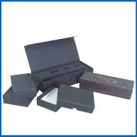 Matte Black Flashlight Paper Gift Packaging Box with Black Color Foam Manufactures