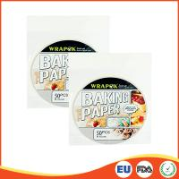 Round Silicone Paper Sheets For Cooking / Baking , Professional Parchment Paper Sheets Manufactures