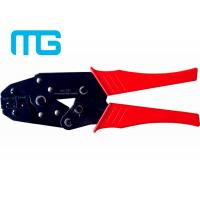 22 - 10 AWG Wire Terminal Crimper , MG - 03C Carbon Steel Electrical Crimping Tool Manufactures