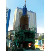 1.2m-2.6m Dia Bored Pile Foundation Casing Rotator 750 mm Pulling Stroke Manufactures