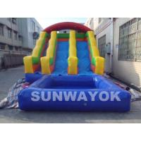 Cute 18Oz PVC tarpaulin blow up water park inflatable toys For Amusement Manufactures