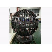 SMD P4.8 Indoor Full Color spherical Led display Screen Diameter 1.2m Manufactures
