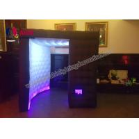 Customized LED Inflatable Photo Booth Props Portable Spray Booth For Party Manufactures