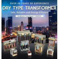 China Single And Three Phase Dry Type Transformer 1-1000kva Copper Alumnium on sale