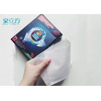 Quality Disposable Magnetic Catcher Color Absorbing Laundry Sheets For Light Color Clothes for sale