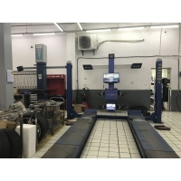 Buy cheap ECM 533cm Wheelbase 4 Cameras 3D Wheel Alignment Machine from wholesalers