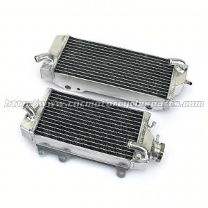 Hand Welded Aluminum MX Motorcycle Radiators Radiator For KAWASAKI KX450F KXF 450 Manufactures