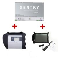 MB SD Connect Compact 4 For Mercedes With EVG7 DL46 Diagnostic Controller Tablet PC 2017/7 Ready to Use Manufactures