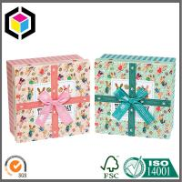 CMYK Full Color Offset Print Paper Gift Packaging Box Lid Off Two Parts Style Manufactures