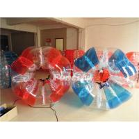 PVC / TPU Colorful 1.5M Bubble Soccer Battle Ball Funny for Adult Manufactures