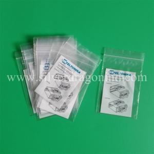 custom printed plastic PE ziplock bags Manufactures