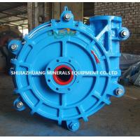 High Performanc 3 Inch Slurry Pump White Iron Material for Cyclone and Filter Press Feeding Manufactures