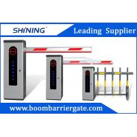Buy cheap Vehicle Barrier Gates Auto Close 24VDC Motor Parking Lot Security Gates With LED Light from wholesalers