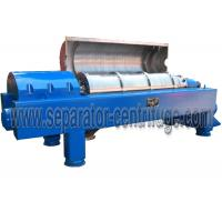 Automatic  Decanter Centrifuge / Centrifuge Filter System For Calcium Hypochlorite Dewatering Manufactures