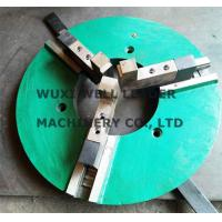Casten Steel Fast Clamp Welding Chuck WP -300 For Welding Positioners Turntables Manufactures