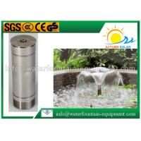 Morning Glory Pool Fountain Heads , Water Feature Fountain Heads Cone Shape Cover Manufactures