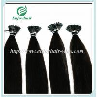 "Pre-Bonded Hair 10""-28"" 100s/pack 2# color Straight Human Hair Brazilian hair extension Manufactures"