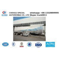 ASME SONCAP 56000L LPG gas tank semi trailer,best price CLW Brand 56cubic meters lpg gas propane trailer for sale Manufactures